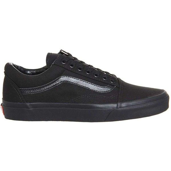 Vans Supplied By Office Old Skool Trainers 3 885 Rub Liked On Polyvore