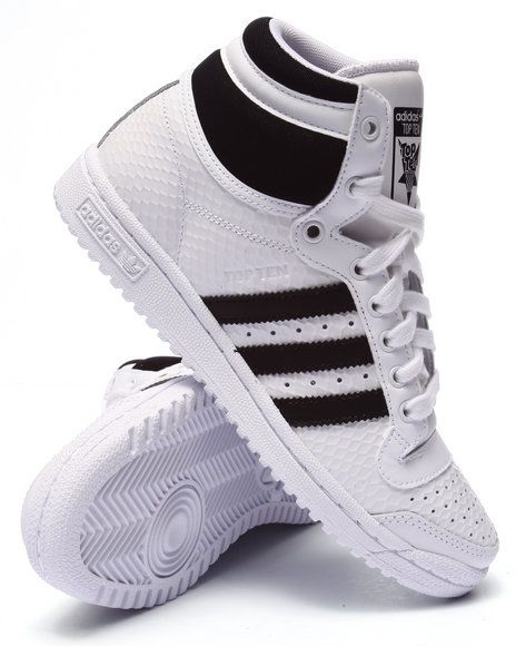 Find Top Ten Hi Embossed W Sneakers Women's Footwear from Adidas & more at DrJays. on Drjays.com