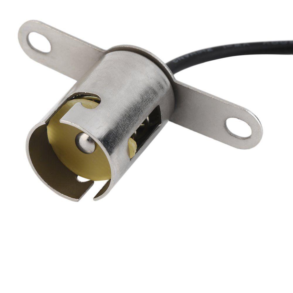 1pcs Lot Ba15s 1156 Bayonet Light Bulb Socket Auto Lamp Holder Base Free Shipping Hot Selling Brand New Light Bulb Lamp Holder Bulb