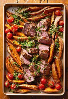 Beef is what's for dinner with this healthy beef and potatoes sheet pan supper. #recipes #recipeideas #sheetpanrecipes #bhg Beef is what's for dinner with this healthy beef and potatoes sheet pan supper. #recipes #recipeideas #sheetpanrecipes #bhg #sheetpansuppers Beef is what's for dinner with this healthy beef and potatoes sheet pan supper. #recipes #recipeideas #sheetpanrecipes #bhg Beef is what's for dinner with this healthy beef and potatoes sheet pan supper. #recipes #recipeideas #sheetpan #sheetpansuppers