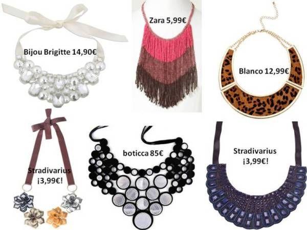 ¿Te aburre tu look? Apuesta por el collar babero. | El Armario de Pandora. Tu blog sobre moda online y consejos de moda.