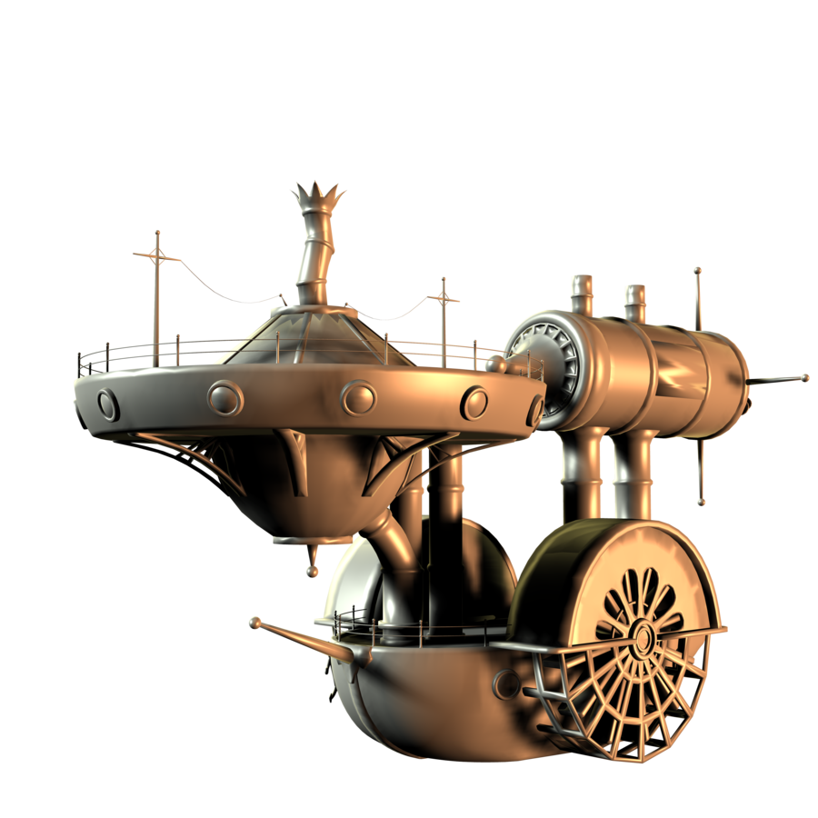 Steampunk enterprise
