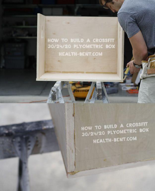 Tools And Materials 3 4 Sheet Of Plywood 8 X4 2 Deck Screws Box Tube Wood Glue Or Bottle 8 2 4 Board Sandable Wood Crossfit Plyometrics Plyo Box Plans