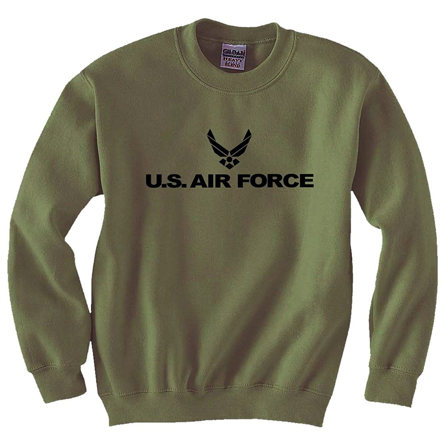 Men S Clothing Active Active Sweatshirts Air Force Military Style Physical Training Crewneck Sweatshirt Air Force Sweatshirt Sweatshirts Military Fashion [ 1500 x 1500 Pixel ]