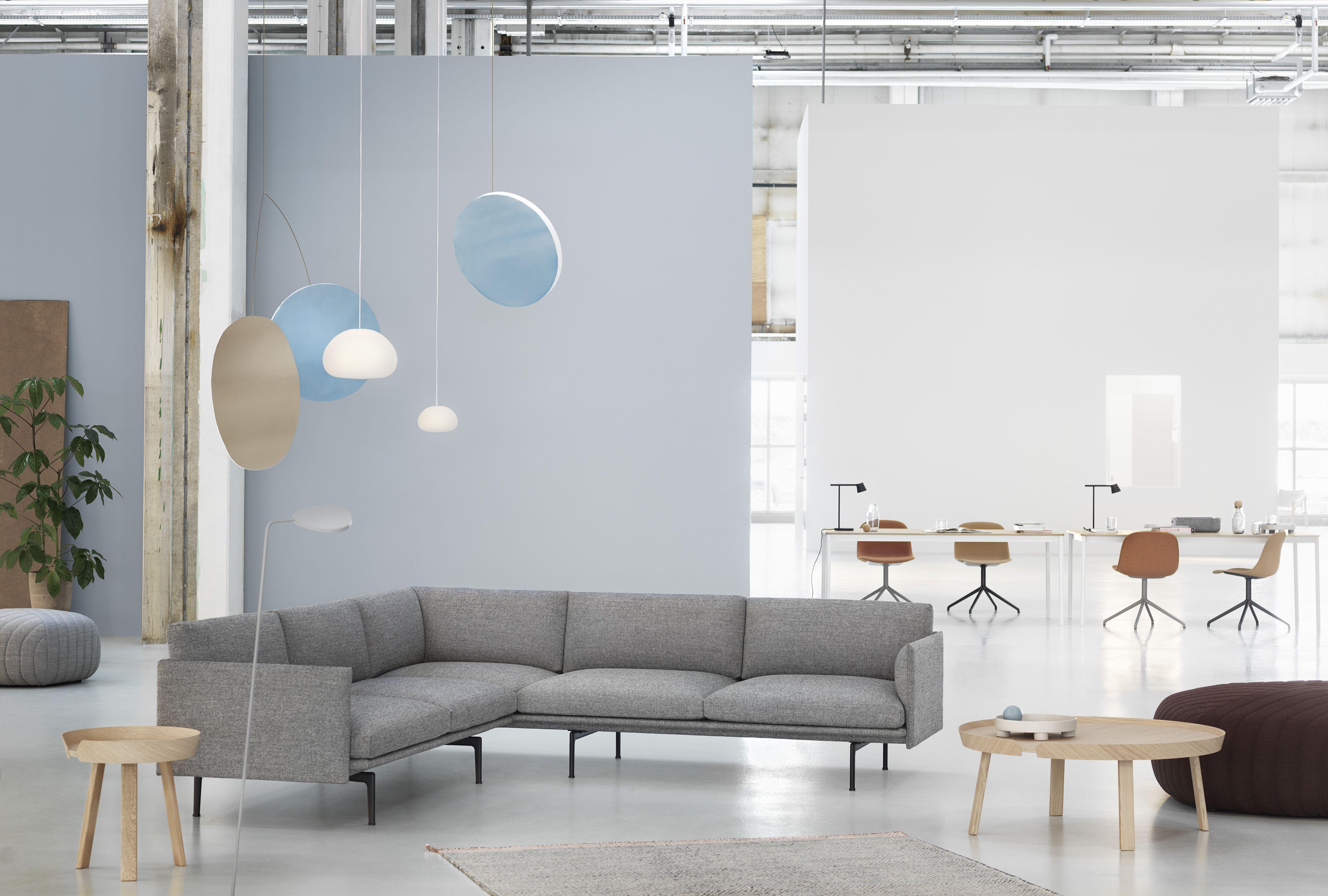 Embodying The Design Language Of The Outline Sofa Series Is The Outline Corner Sofa An Angular Ta Scandinavian Sofa Design Corner Sofa How To Make Corner Sofa