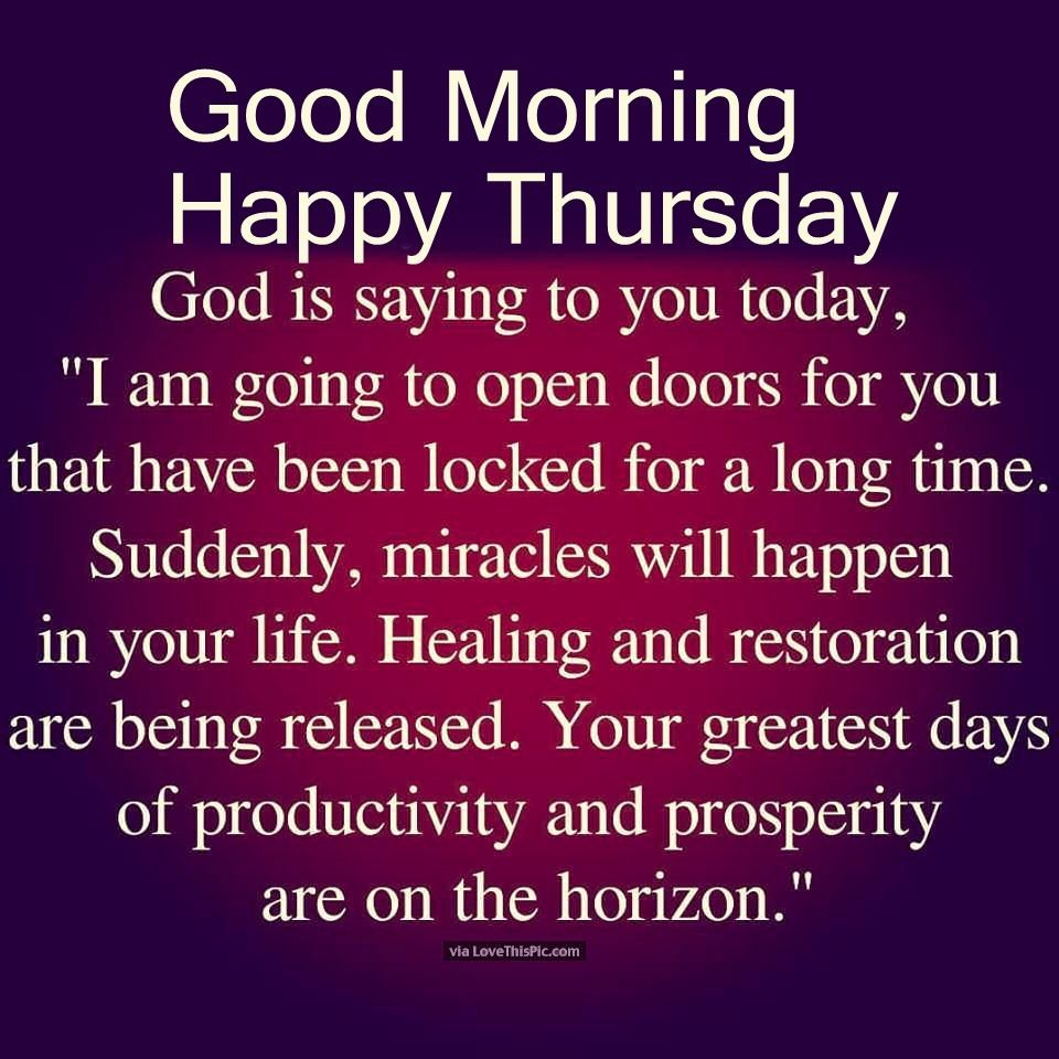 Religious Good Morning Thursday Quote | happy Thursday | Thursday