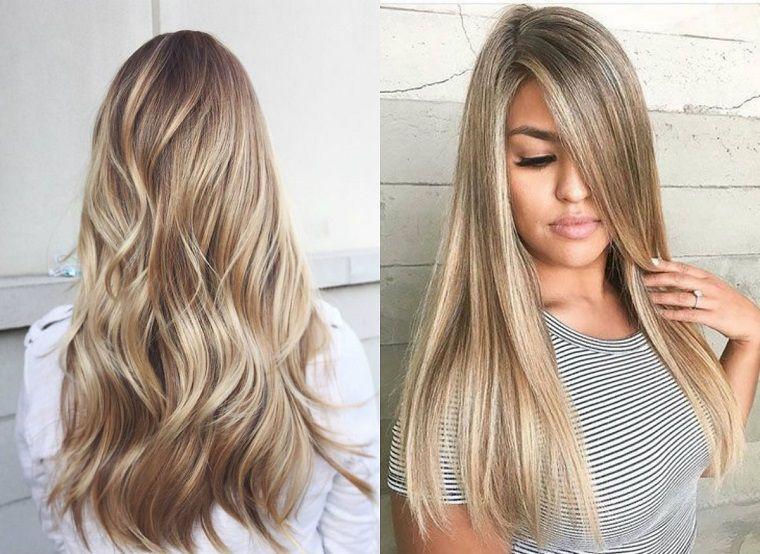 Exceptionnel acconciature per i capelli lunghi lisci e ondulati | Acconciature  WW86
