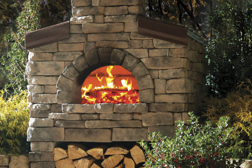 Outdoor Pizza Oven Kit High End Is The First To Offer An Open Front And Two  Independently Controlled Burners For The Gourmet Outdoors.