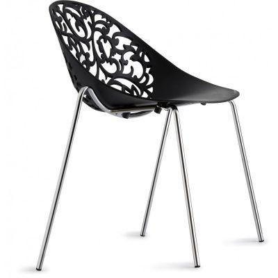 Jena Chaise Hyper Design Avec Dossier Ajoure Dentelle Www Drawer Fr Mobilier De Salon Meuble Design Design