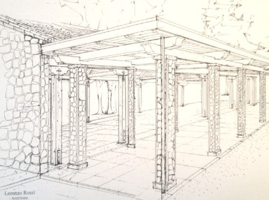 Progetti di architettura disegni di architettura d for Interni architettura