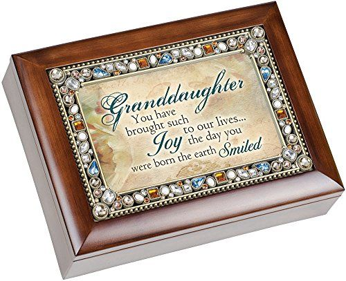 Granddaughter Jewelry Box Beauteous Jewelry Music Boxes  Granddaughter You Have Brought Such Joy
