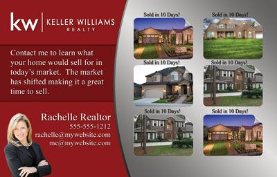 Market Update Postcards for Realtors. Includes free customization ...