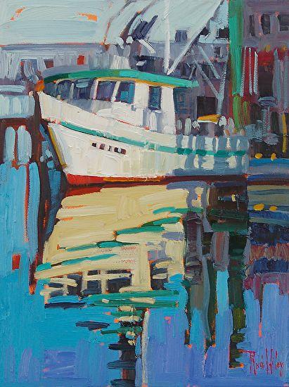 Still Water by Rene Wiley 16 x 12 by René Wiley Gallery  ~  x