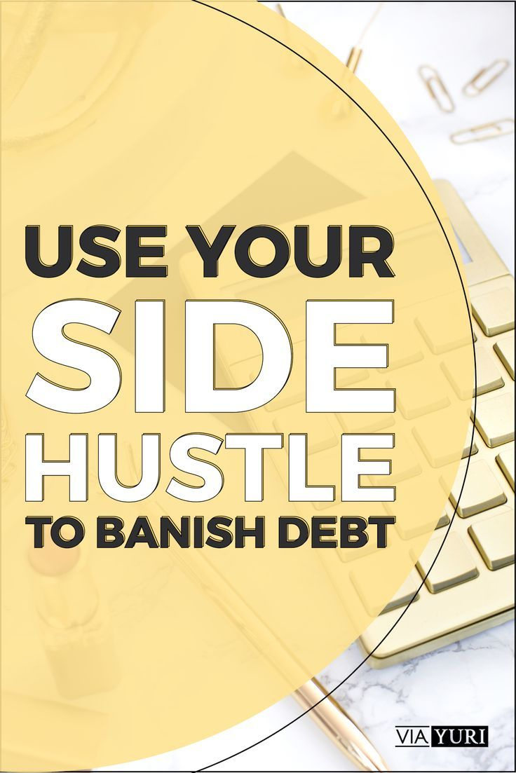 How to Actually Use a Side Hustle to Pay Off Debt