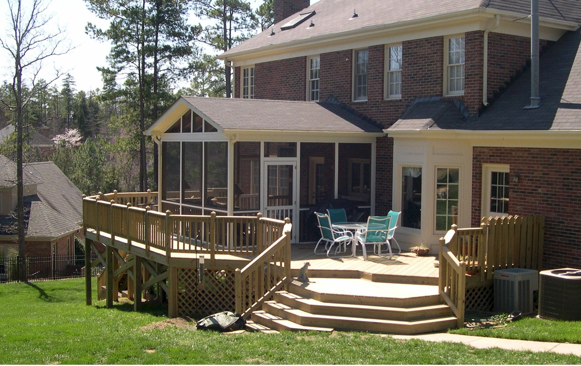 Charlotte Huntersville Screened Porch Sunroom Sunrooms