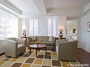 How About A Classy One Bedroom Apartment In Midtown West It Comes With Access To Upscale Amenities New York Apartment 1 Bedroom Apartment New York Apartments