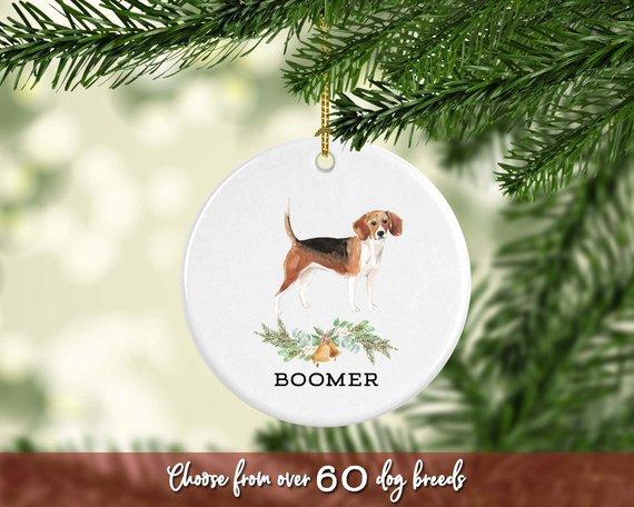 Beagle Ornament Pet Gift Dog Ornament Personalized Beagle