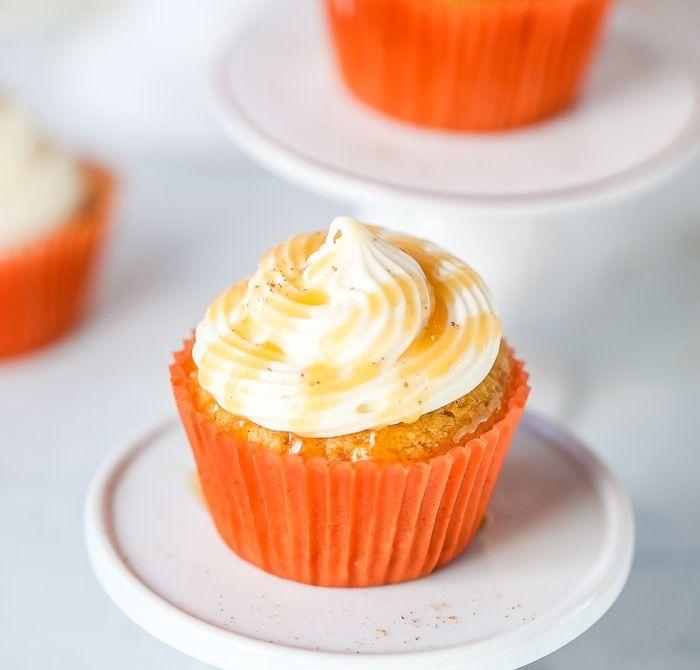#pumpkinspicecupcakes