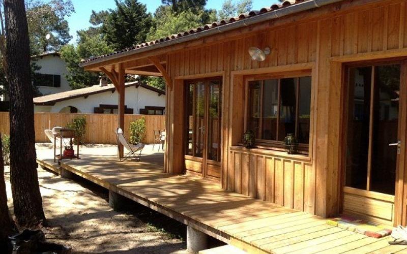 Location maison villa bois 242 l ge cap ferret 5 pi ces - Maison en bois cap ferret ...