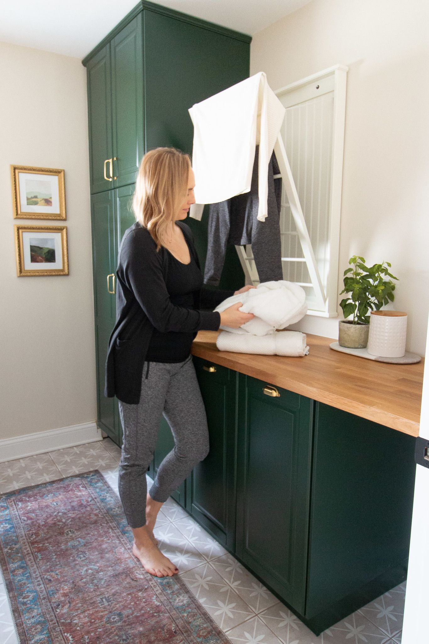 Design Your Own Laundry Room: DIY Laundry Room Makeover Reveal