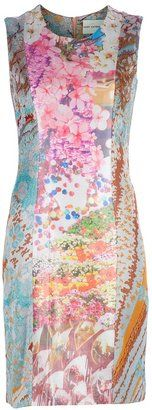 ShopStyle: Mary Katrantzou Lurex Knitted Silk Dress