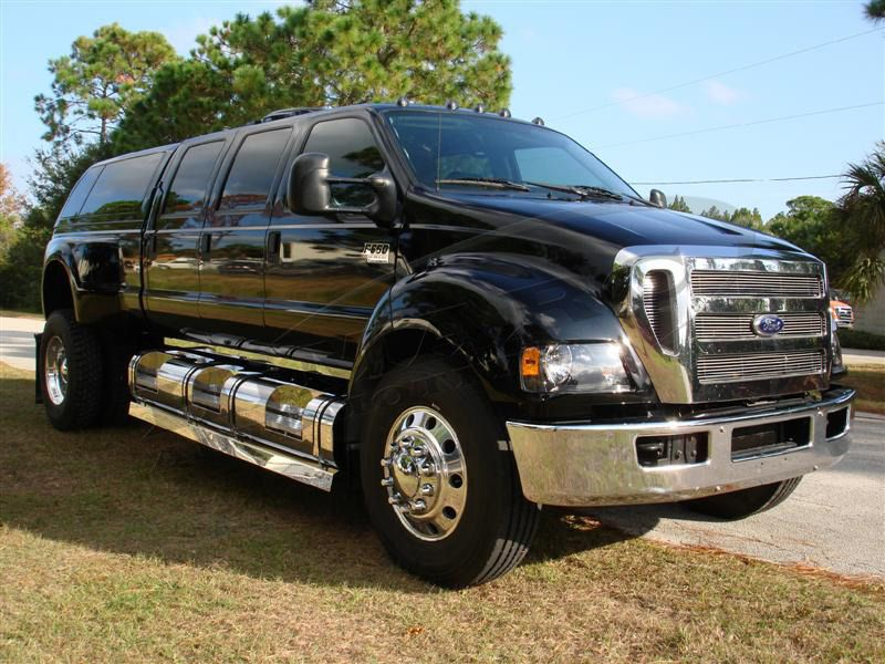 2008 Ford F650 6 Door Himarc Conversion