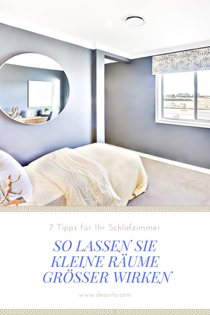 Gerade in Schlafzimmer passen neben Schrank und Bett oft keine ...
