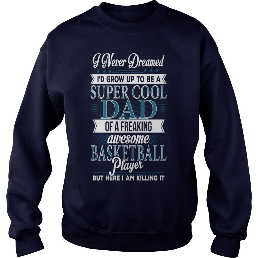 Super Cool Basketball Dad