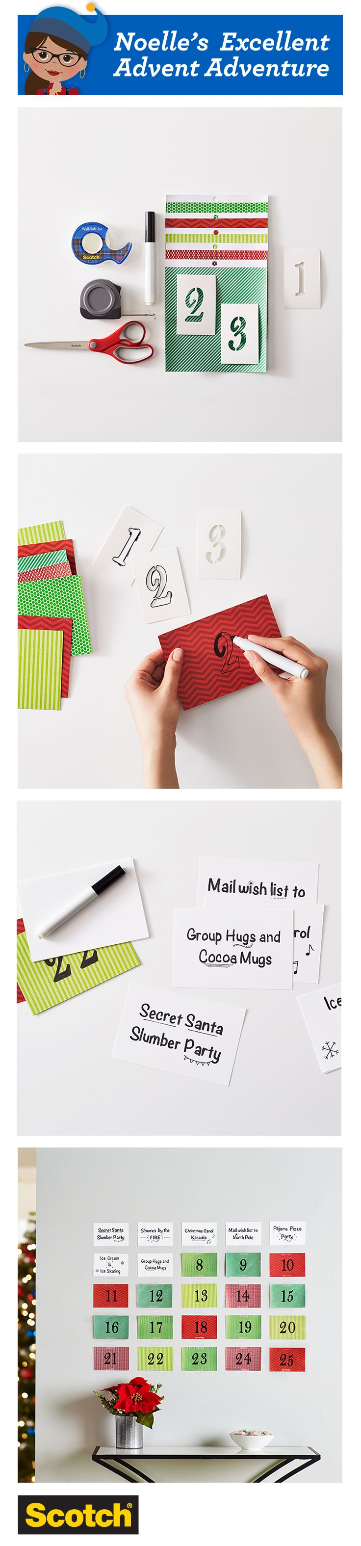 Give your family sentiments sweeter than candy with personalized messages of holiday sharing and joy. Scotch Wall-Safe Tape sticks securely but removes cleanly from walls and other home and office surfaces.