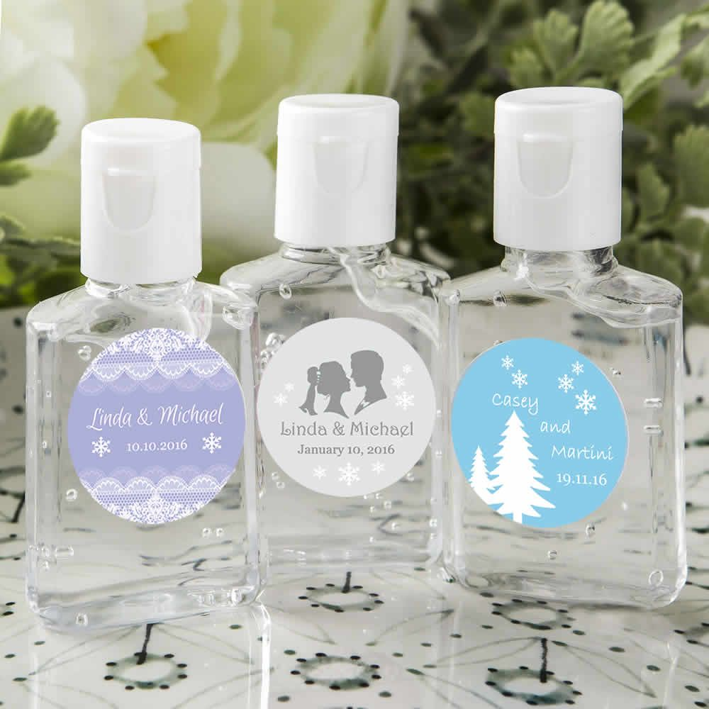 Personalized Hand Sanitizer Favors Free Assembly Hand