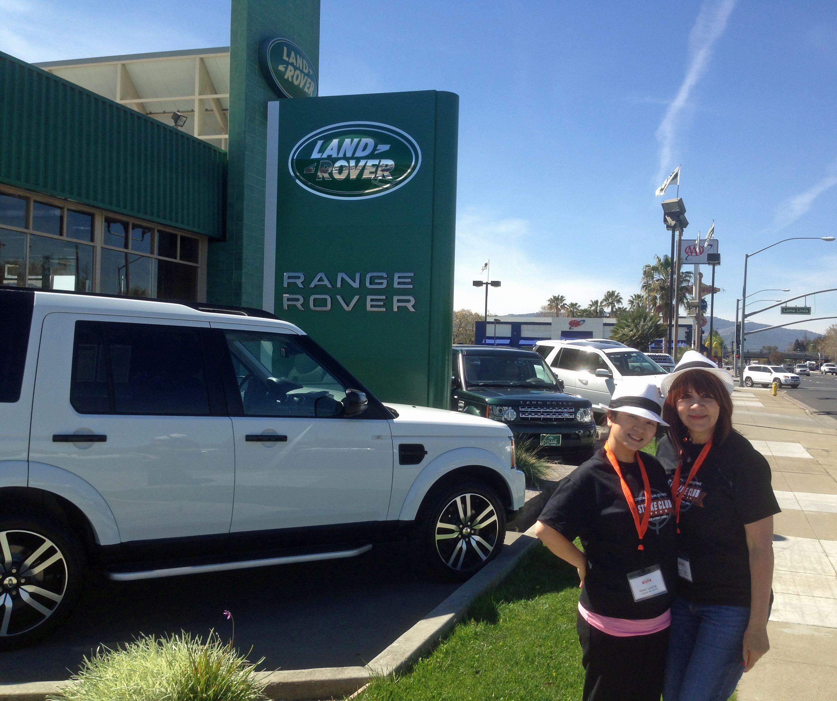 Having Fun At Land Rover San Jose Strikeclubsiliconvalley Land Rover Have Fun Range Rover