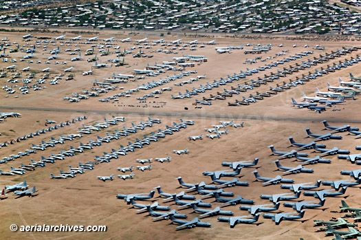 Visit World S Largest Aircraft Boneyard Davis Monthan Air Force