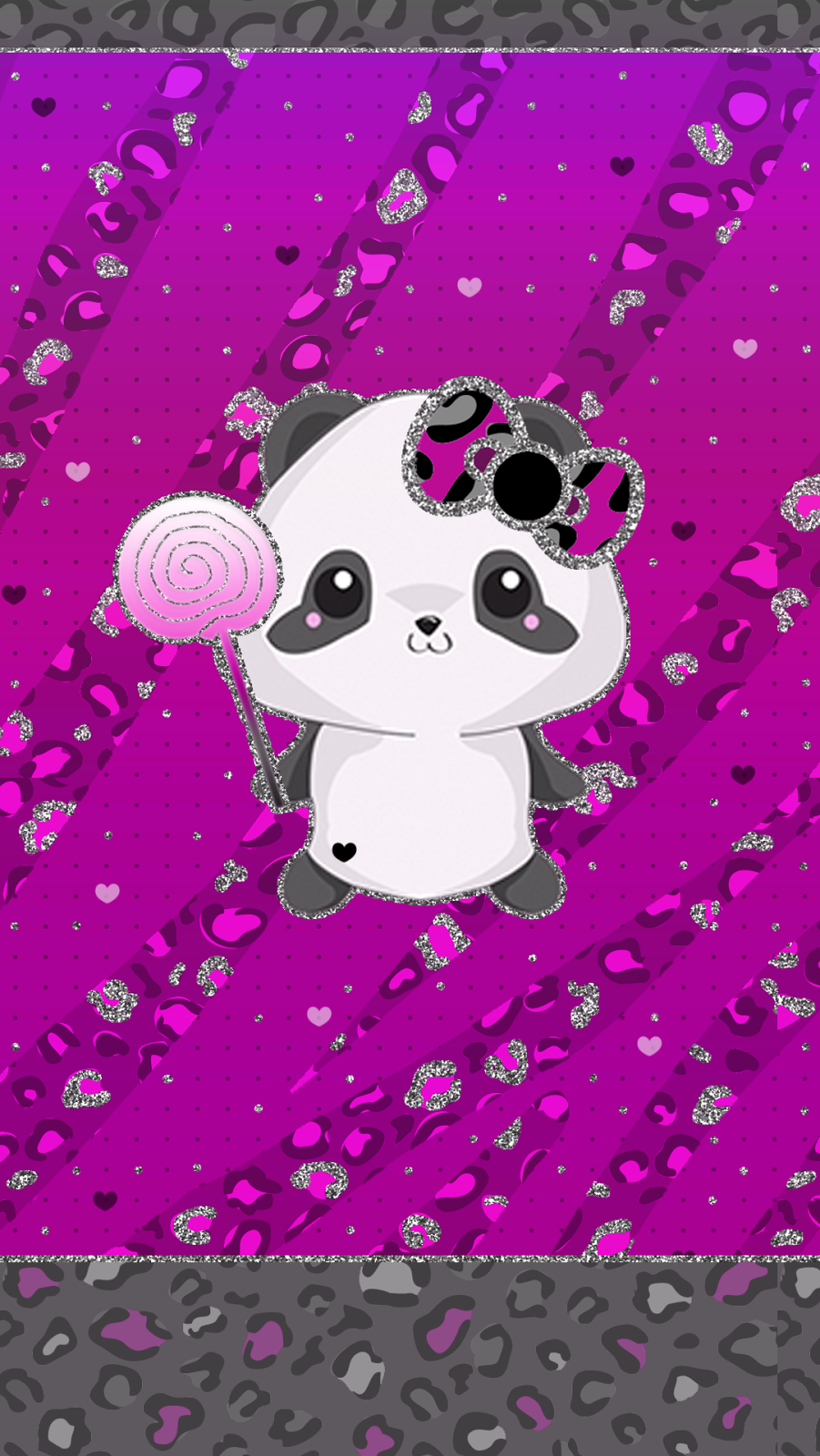 Cute Panda Custom IPhone And Android Wallpaper Background