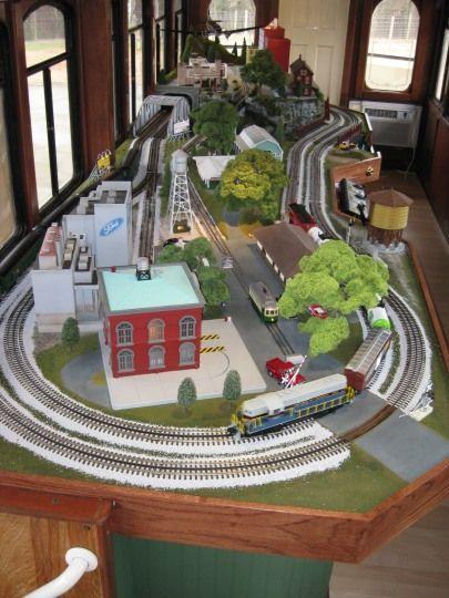 Table Top Layout Traininstallations Com Model Trains