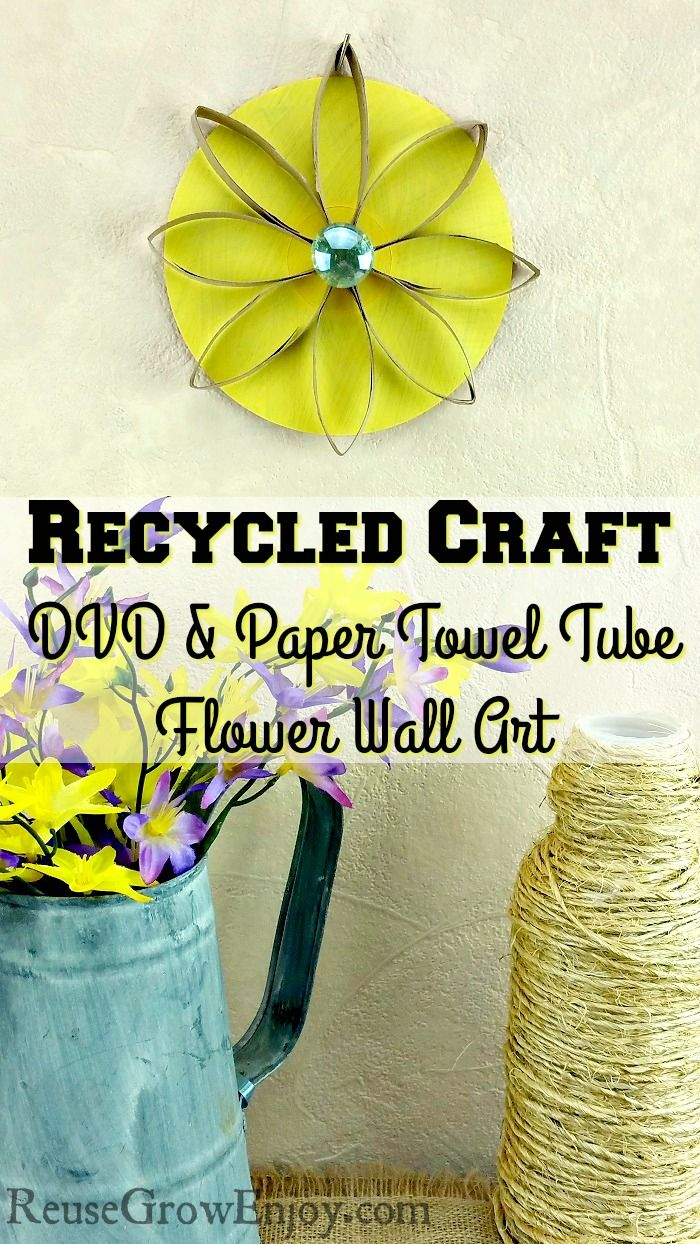 Need a fun craft to do today that will dress up your walls? Check ...