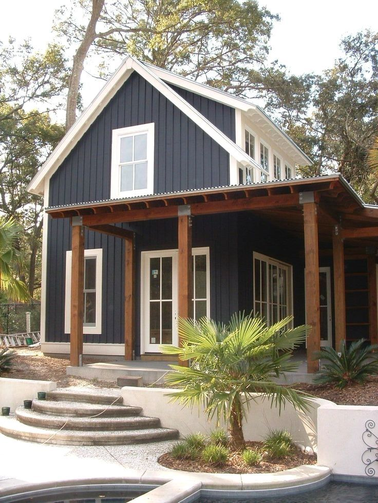 Large Exterior Plan For Modern Homes In Mix Colors: 40+ Top Large And Small Barndominium Floor Plans (with Pictures)