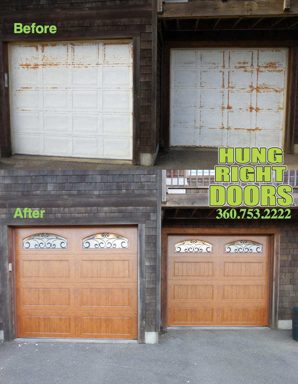Outdated Garage Doors Get A Makeover With New Clopay