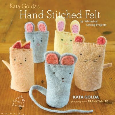 felt crafts | Checkout Girl: Hacking Coughs and Super Cute Felt Projects