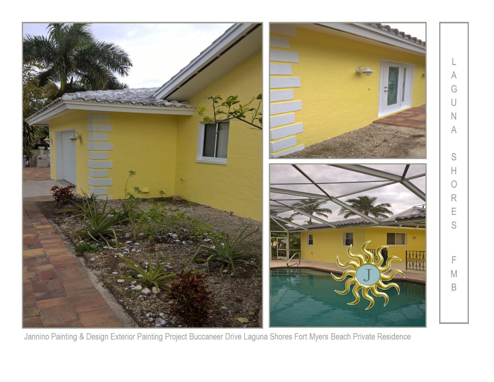 Exterior Painting Laguna Shores Fmb Redington Shores Indian Rocks Beach Fl Island House House Painting Fort Myers Beach