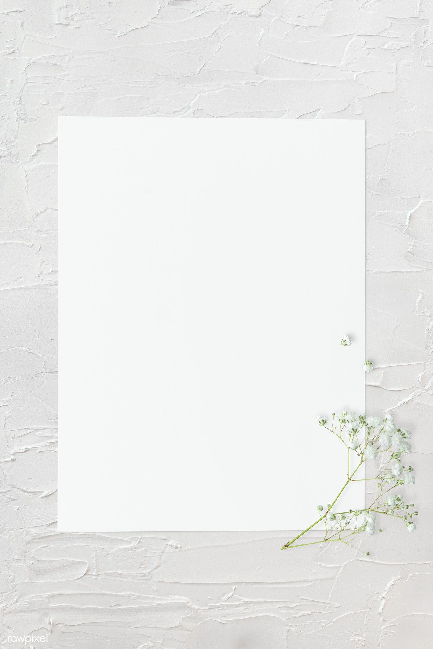Download Premium Psd Of Blank Plain White Paper Template 1201886 Paper Template Instagram Frame Template Instagram Frame