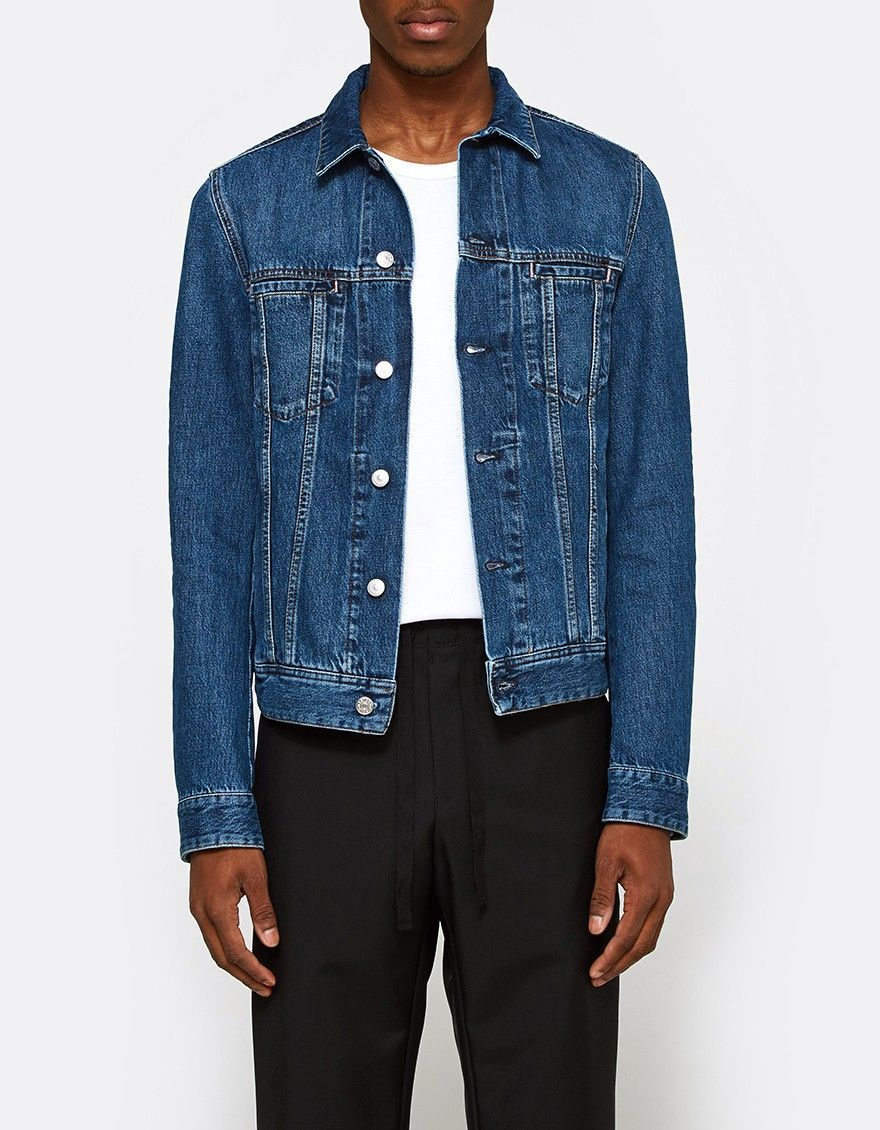 b8b9ee4682c Acne Studios   Pass Jacket in Mid Blue in 2018