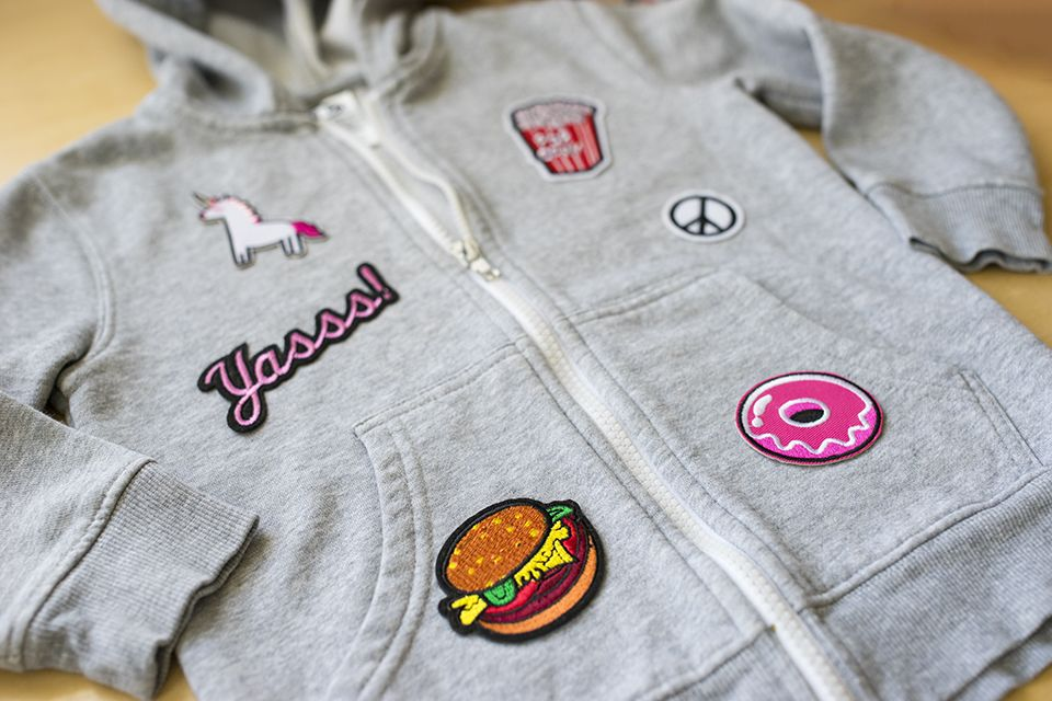 BACK TO SCHOOL Customize your clothes with IronOn