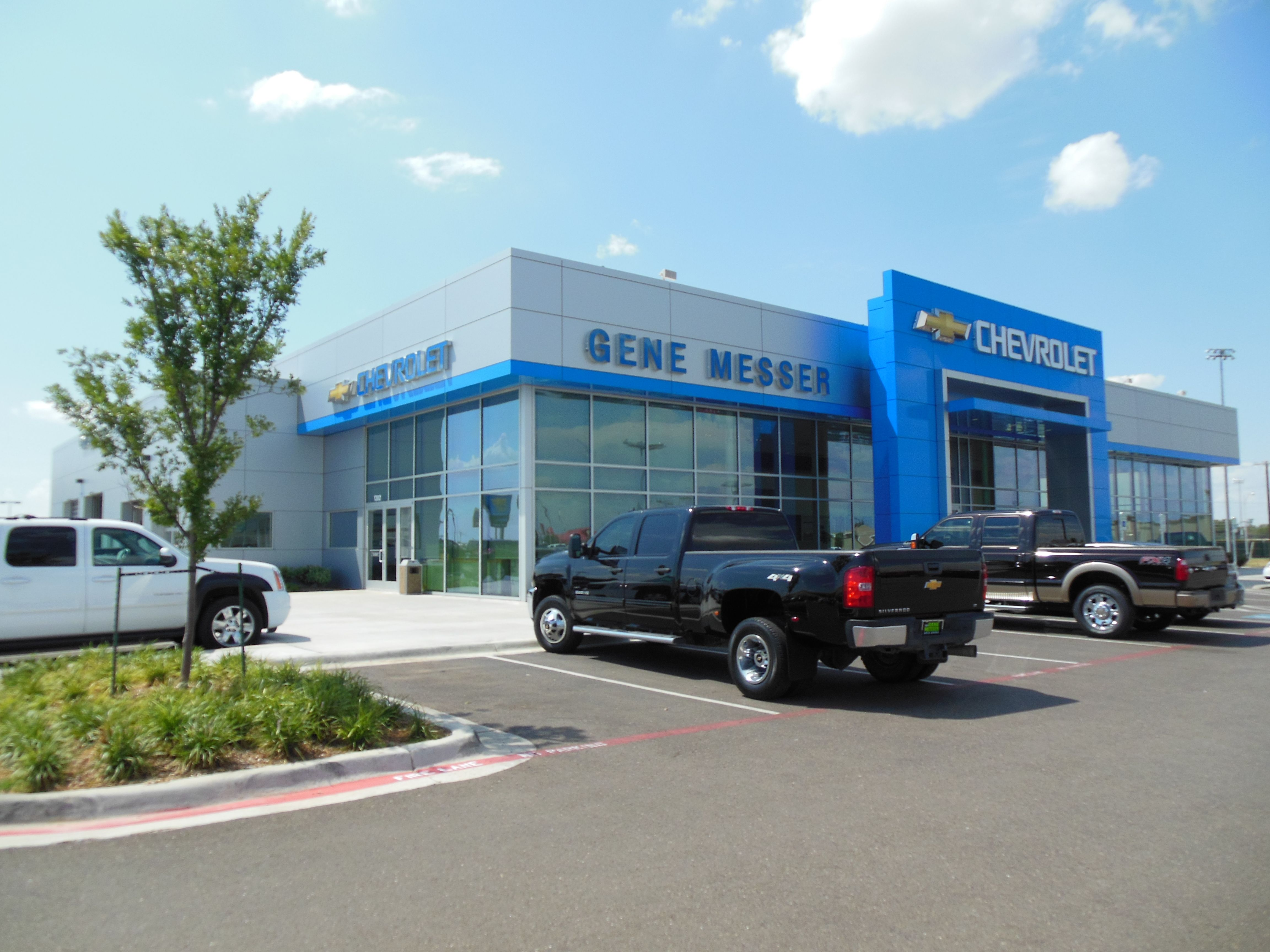 Good Welcome To Our Home! Gene Messer Chevrolet  Lubbock, Texas