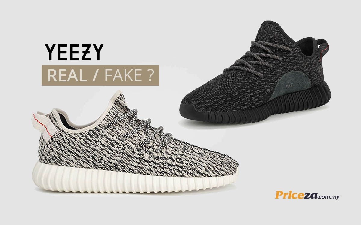 Can You Tell the Difference Between Real & Fake Yeezy Boost 350s? | Yeezy  boost and Yeezy