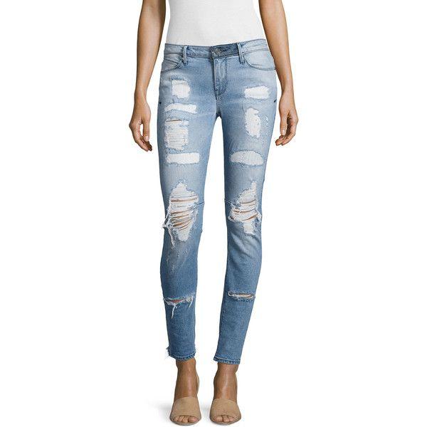 distressed skinny jeans - Blue Rta kPnvDo0B