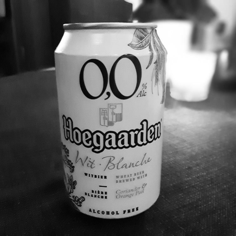 Non Alcoholic Hoegaarden 0 0 The Alcohol Free Version Of The