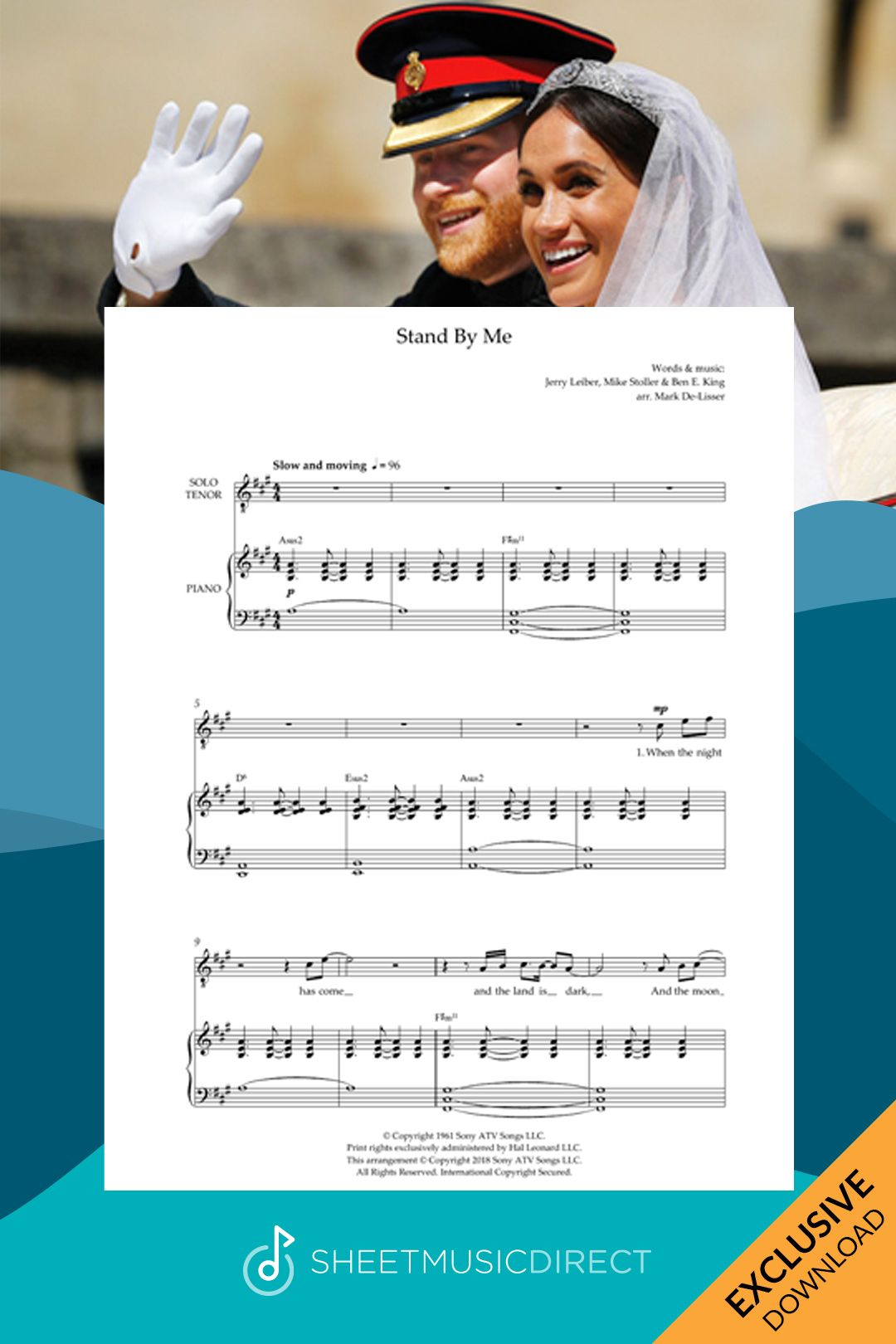 Stand By Me Royal Wedding Version Arr Mark De Lisser By Ben E