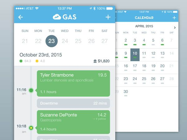 25 Examples Of Timeline In Mobile Apps UI Design