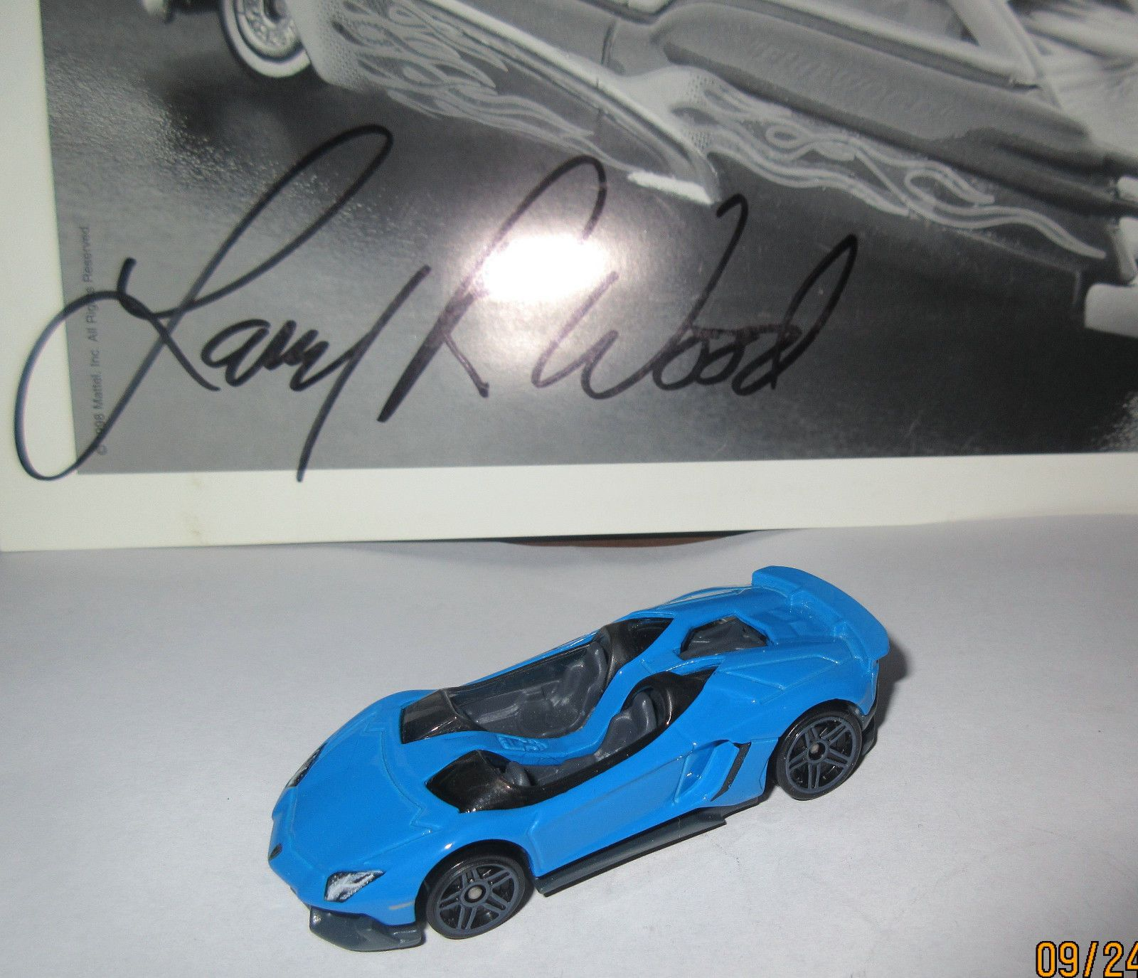cool great hw 2014 lamborghini aventador j convertible blue unspun sample prototype 2017 2018