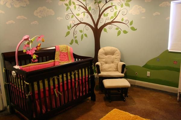 7 Inspiring Kid Room Color Options For Your Little Ones: Baby Nursery Photos - Unique
